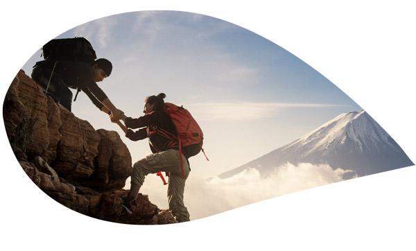 gravir une montagne